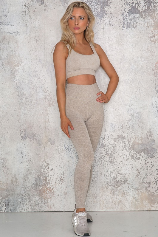 DM SPORT Ribbed Seamless Tights