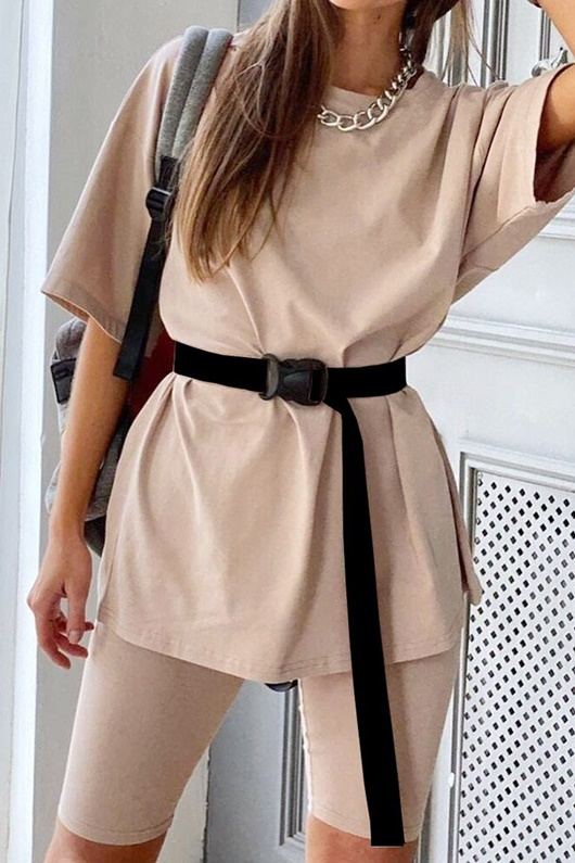 DM Trendy set with belt - Weekday